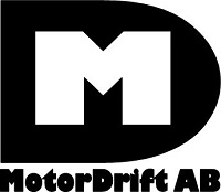 Motordrift Logga med text under - 200pic